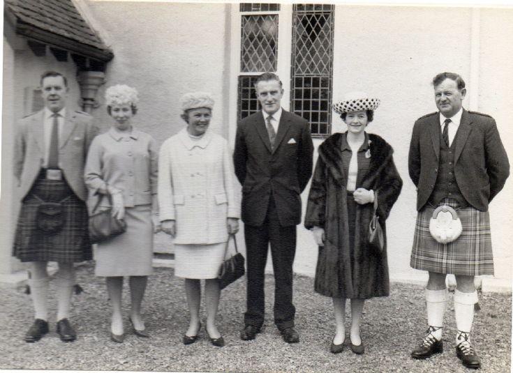 Judy Scott's Wedding 1965