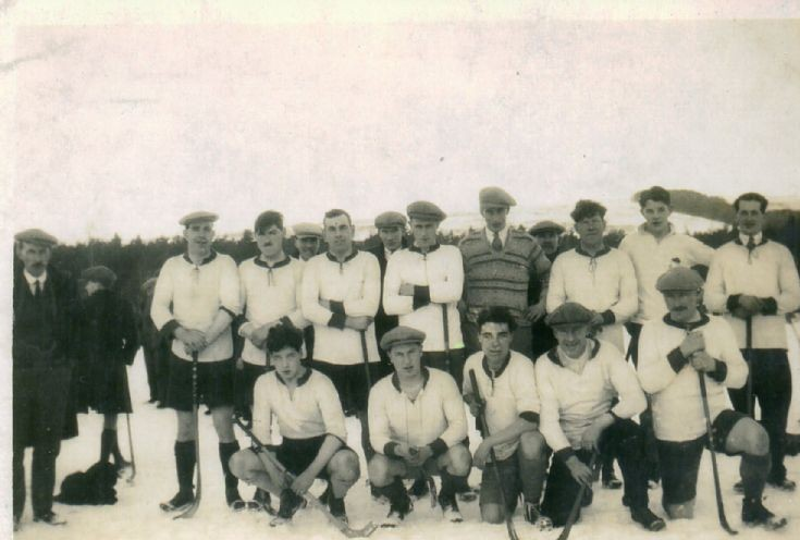 Shinty at Keppoch 1929