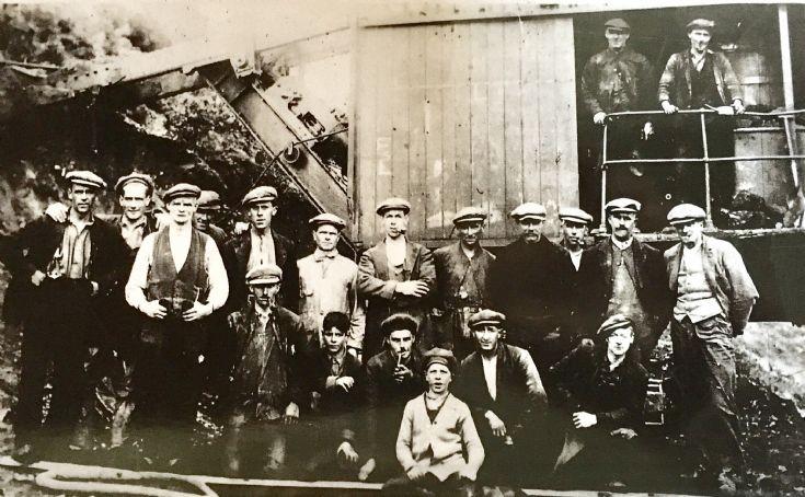 Loch Trieg Workers 1930