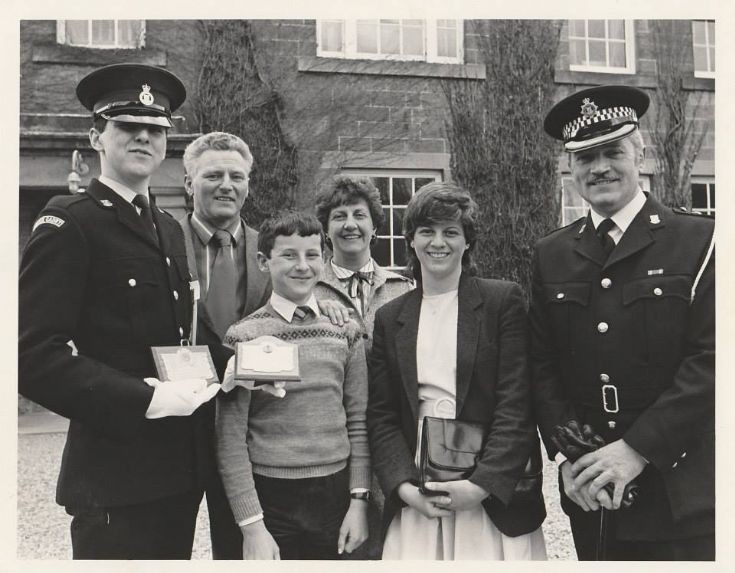 Gerald Munro's Passing out from Police Force 1983