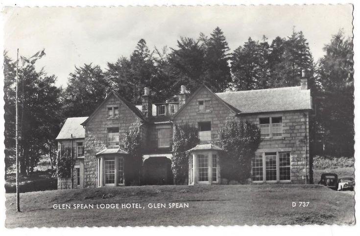 Glenspean Lodge Hotel  1960