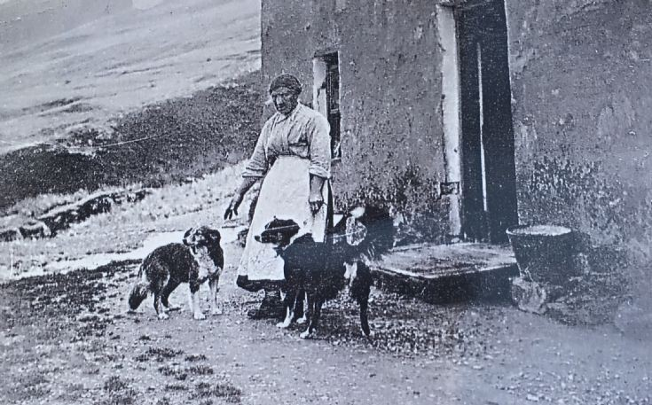 A Cameron Lady outside Achavaddy 1900 ?