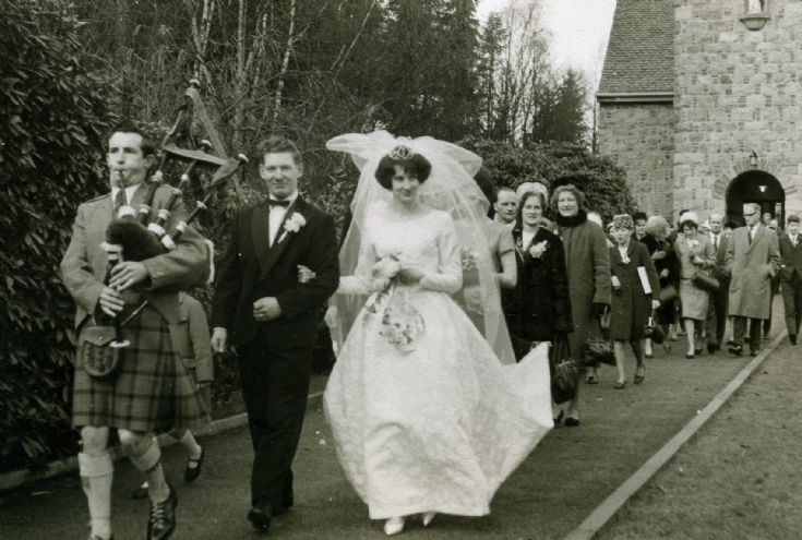 Alexina Nicolson & Derek Donald Wedding 1967