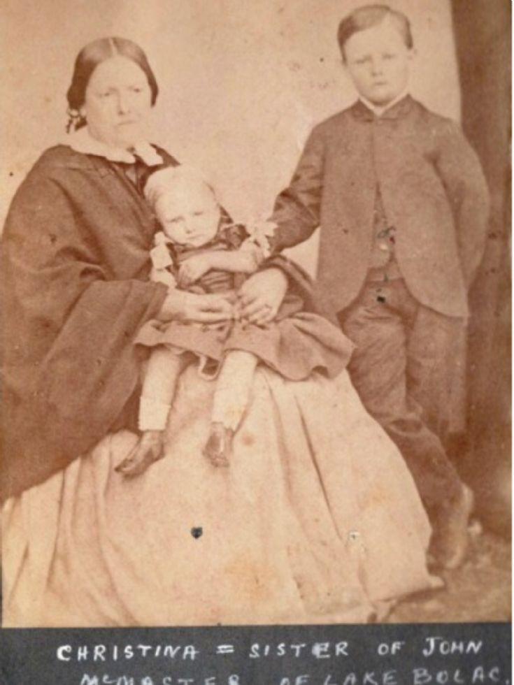 Christina MacMaster, Murlaggan - 1870 ?