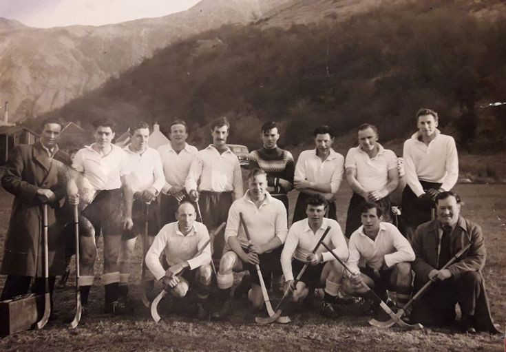 Lochaber Shinty Select Team -  6th April 1960