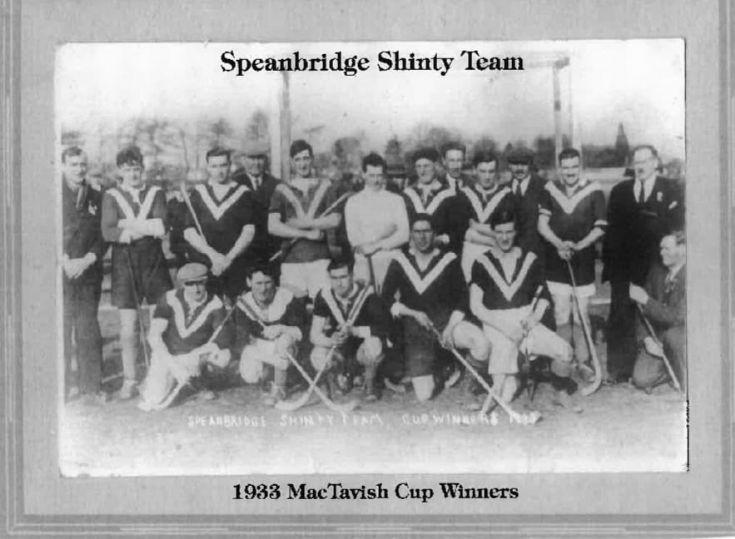 Spean Bridge Shinty Team 1933