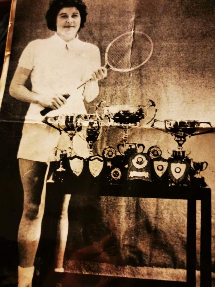 Nan MacMaster Badminton Trophies 1970 ?