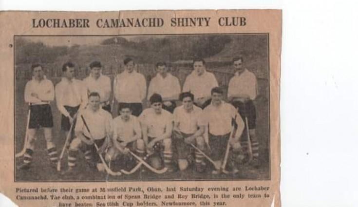 Lochaber Camanachd - 1959