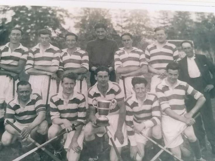 The Lochaber Camanachd 1951 Sutherland Cup Winners