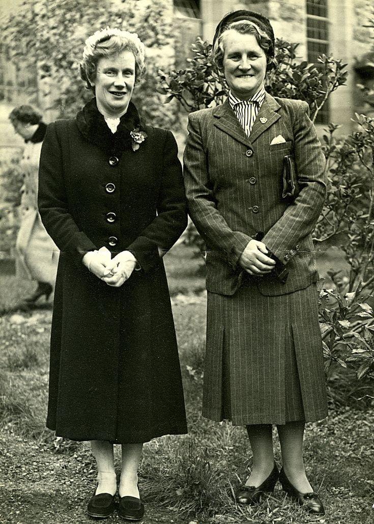 Ada Cameron and Mary MacKillop 1970 ?
