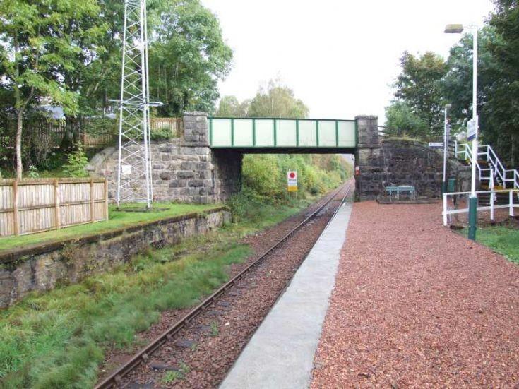 From Railway Shelter looking towards Bridge