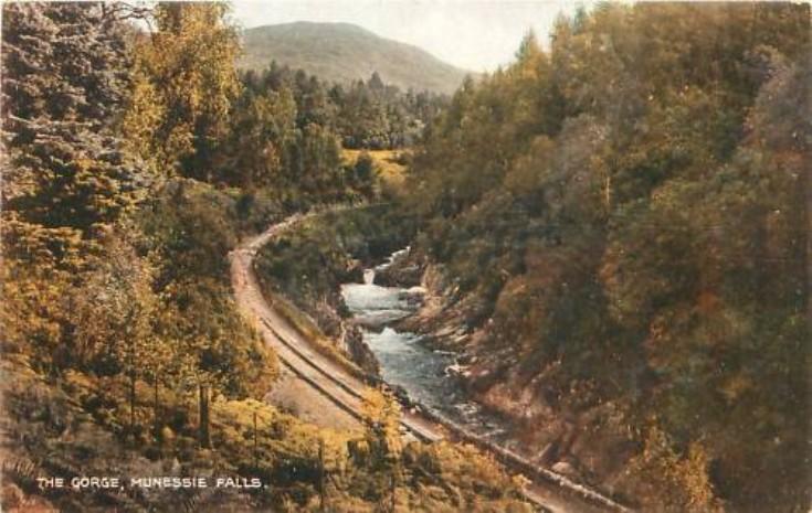 Gorge at Monessie Falls