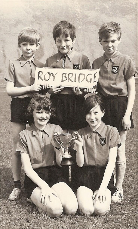Roybridge Primary School Sports Team 1972
