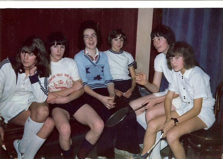 Junior Badminton Team 1975 ?