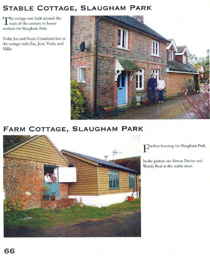 Stable Cottage and Farm Cottage, Slaugham Park