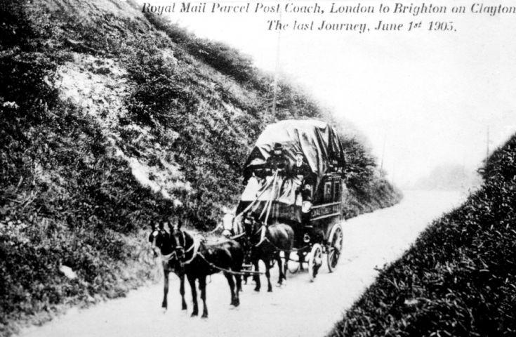 Final Royal Mail coach to London