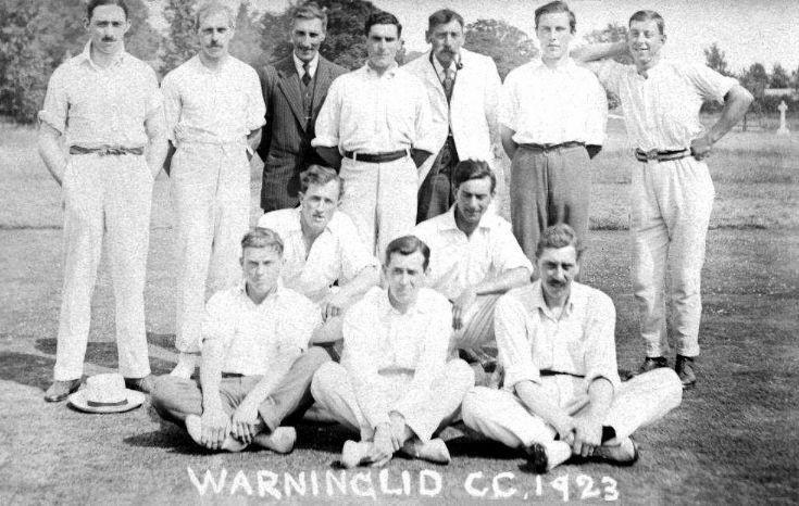 Warninglid cricket team