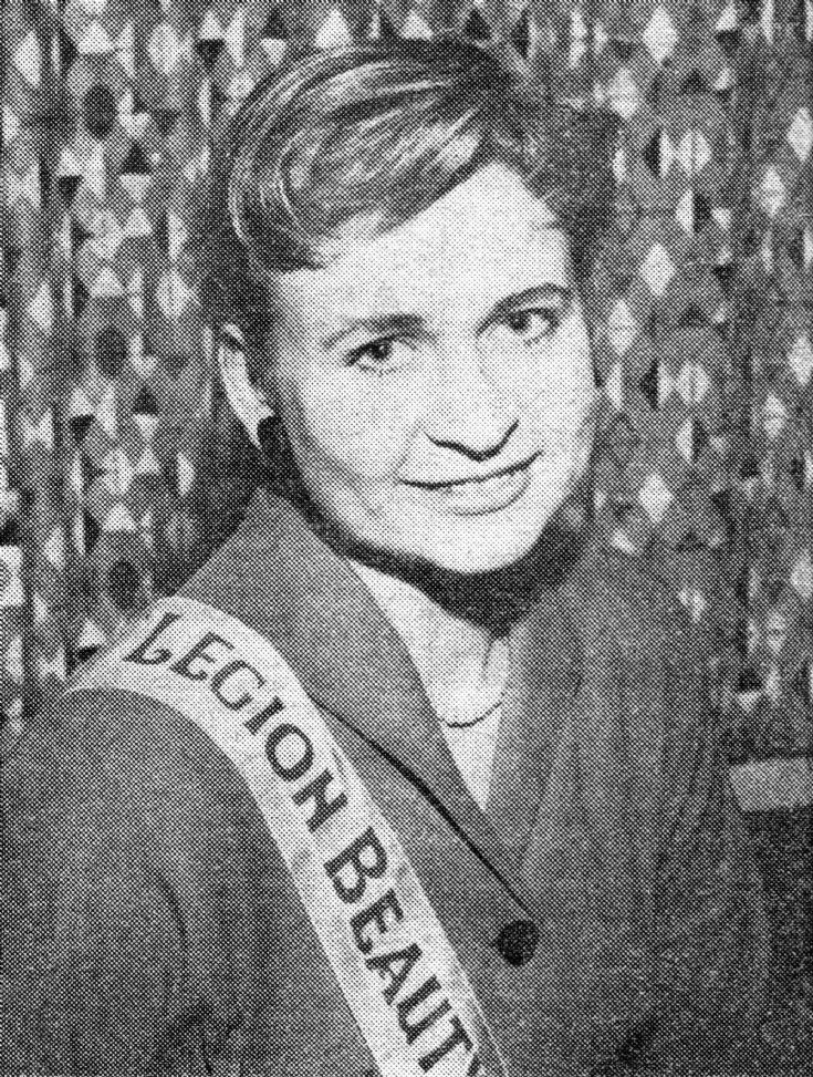 British Legion Beauty Queen 1957