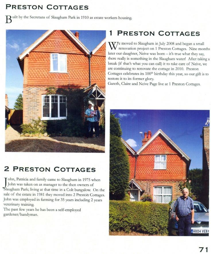 1 and 2 Preston Cottages, Slaugham
