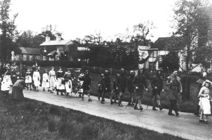 May Day Festival 1920 Staplefield