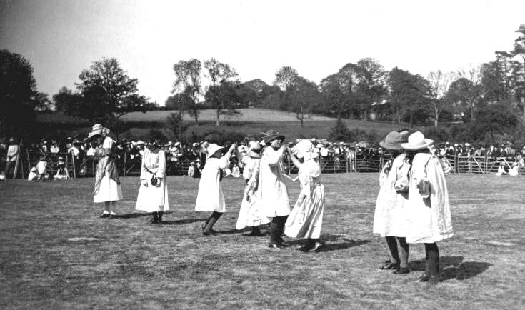 May Day Festival 1919 Staplefield