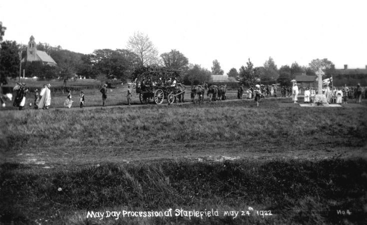 May Day Festival 1922 Staplefield