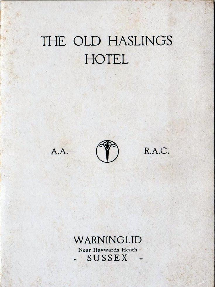Old Haslings Hotel, Warninglid