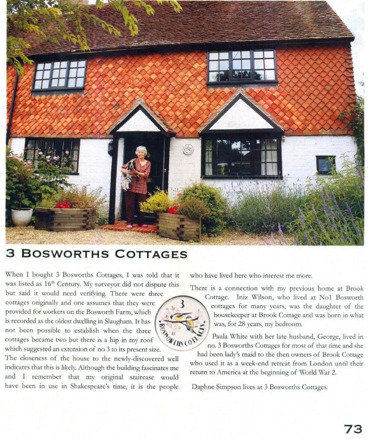 3, Bosworths Cottages, Slaugham