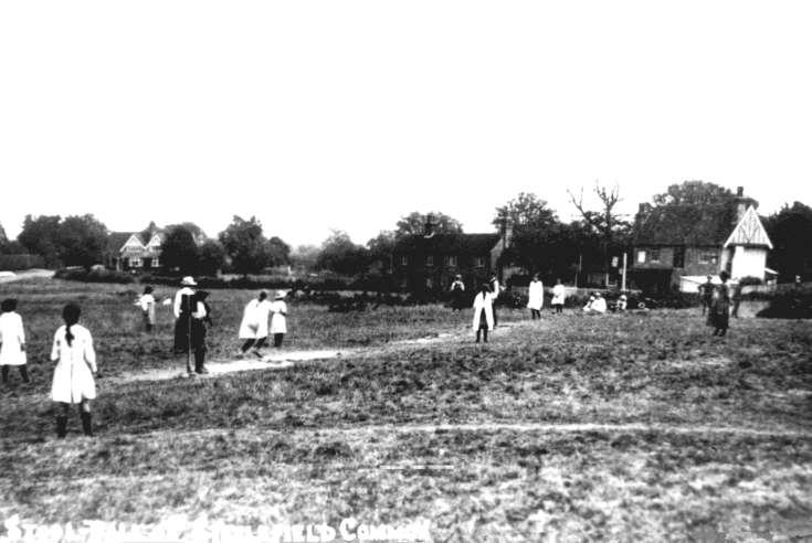 Stoolball on Staplefield Common