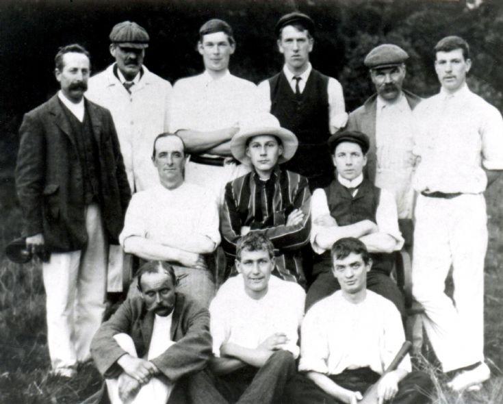 Handcross Park Cricket Team 1907