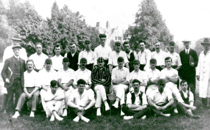 Handcross Park cricket team 1927