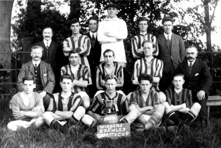 Handcross football team 1925/26