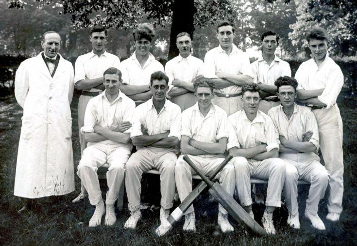 Pease Pottage cricket team 1929
