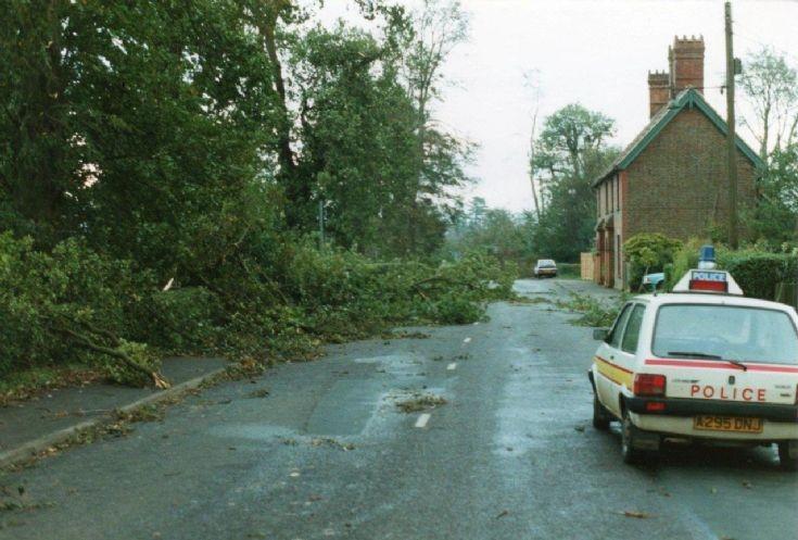 Great Storm - High Street, Handcross