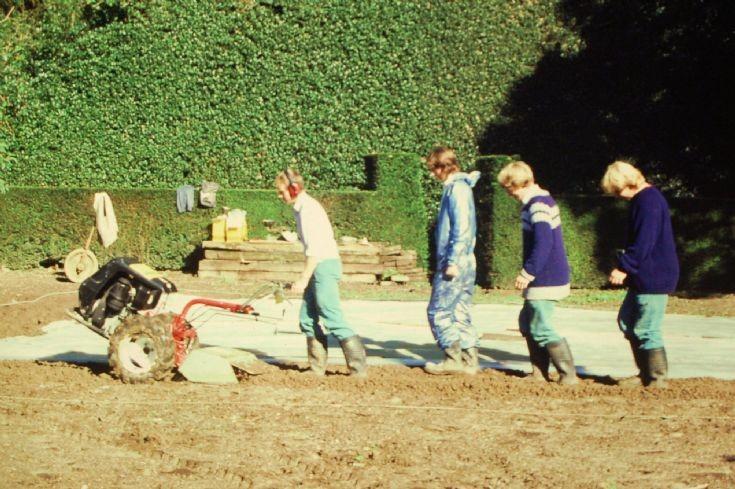 Nymans - Rose Garden renovation (2)