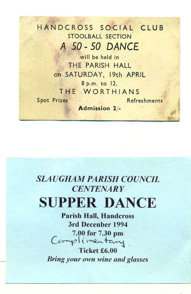 Dances in the Parish Hall, Handcross