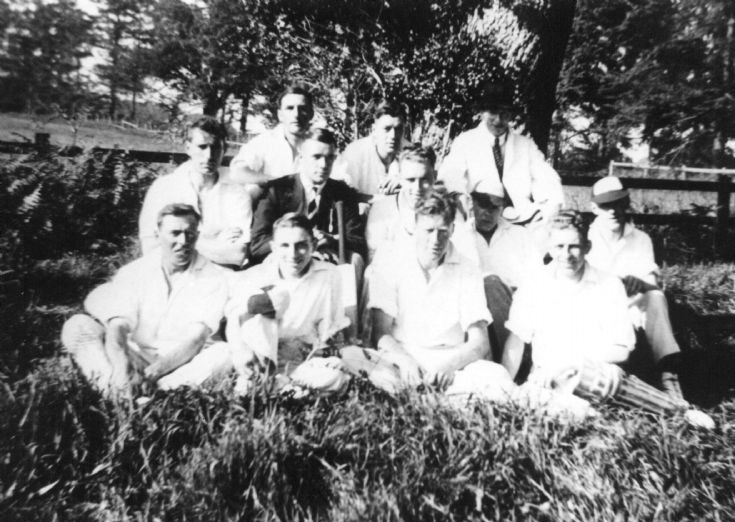 Pease Pottage cricket team 1930