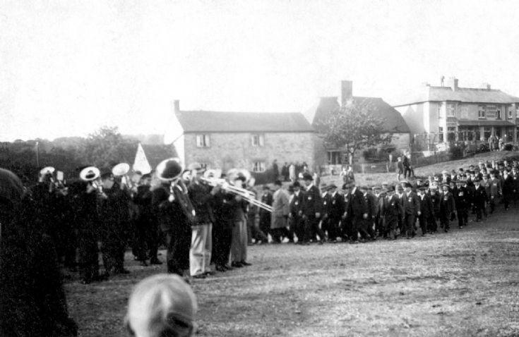 British Legion parade at Slaugham