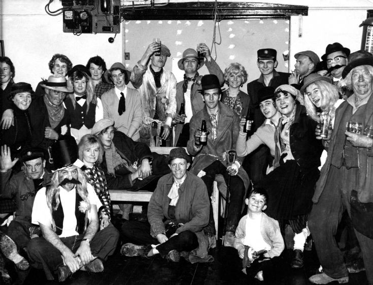 Tramps' Ball in the Handcross Parish Hall