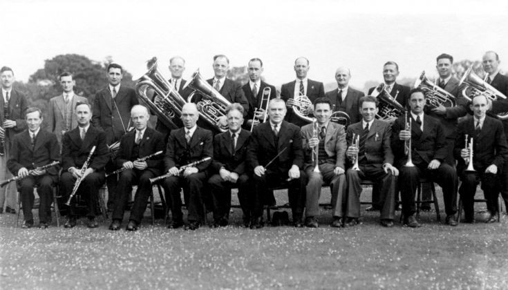 Handcross Band 1946