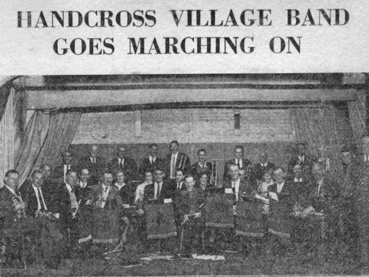 Handcross Band goes marching on
