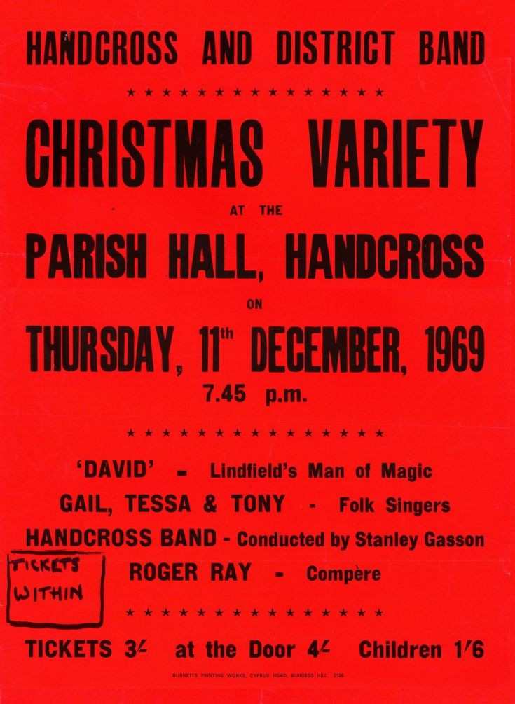 Handcross Band Christmas Variety Show (1)