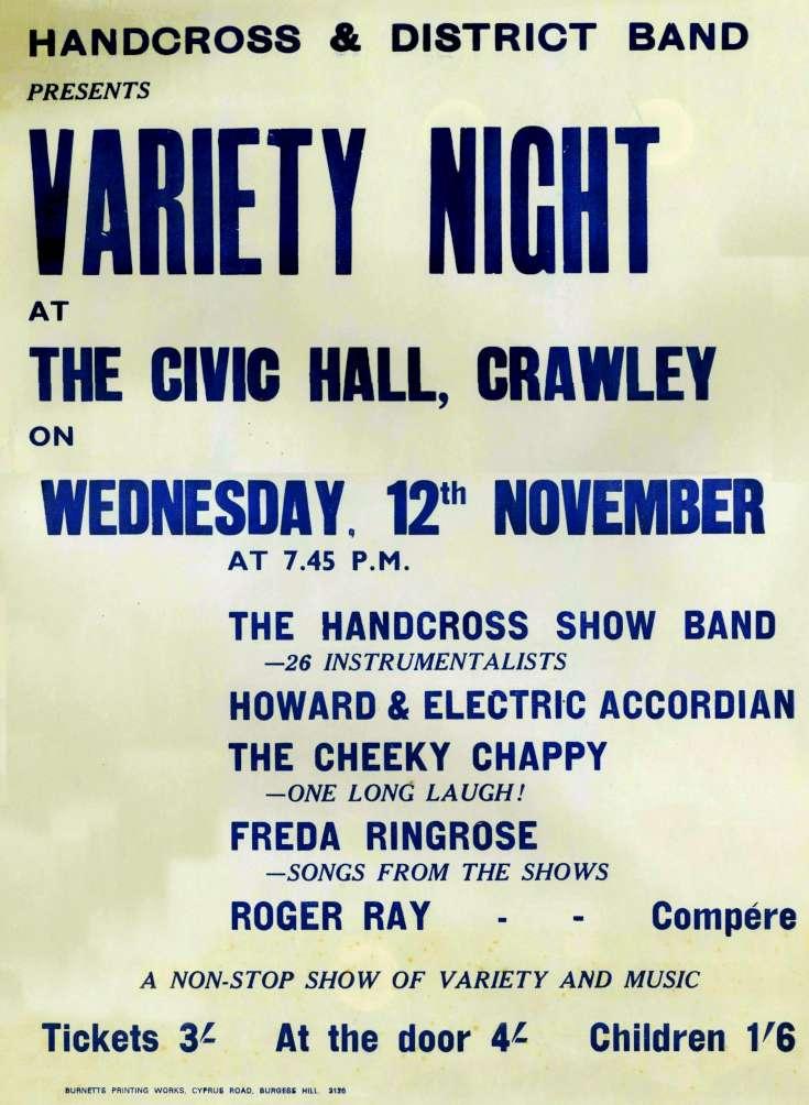 Handcross Band Christmas Variety Show (2)