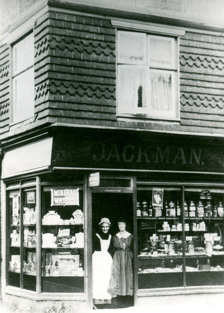 Mrs Jackman's shop - High Street, Handcross