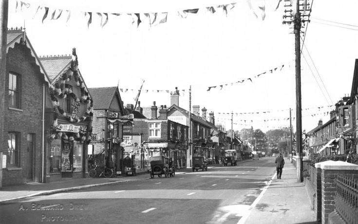 Coronation - High Street, Handcross