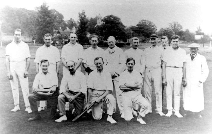 Staplefield cricket team c.1932