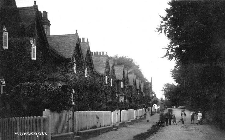 Children in Horsham Road, Handcross