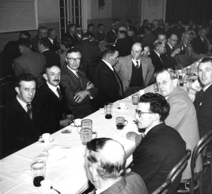British Legion dinner in the Parish Hall