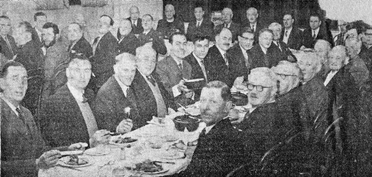 Handcross British Legion dinner 1960