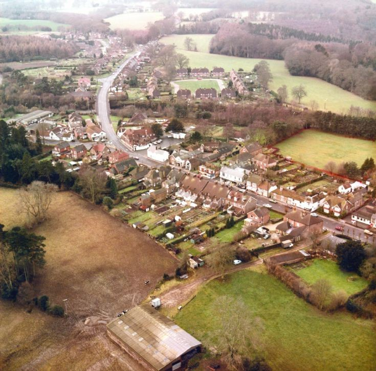 Aerial view of Handcross (2)